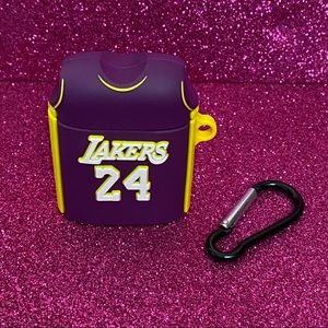 Purple Lakers#24 Jersey AirPods Case